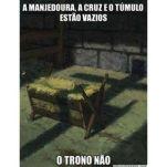 manjedoura - cruz - túmulo