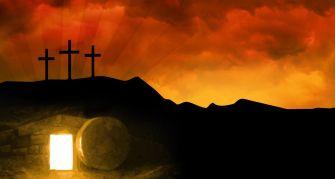 cruz e túmulo